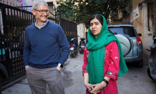 tech-news-apple-partners-with-malala-fund-to-help-girls-receive-quality-education