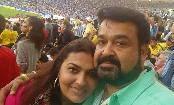 Mohanlal, Suchithra