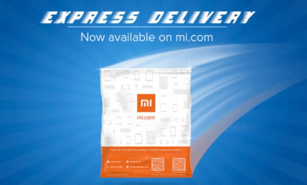 xiaomi, express delivery,