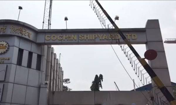 five, dead , repair, cochin shipyard