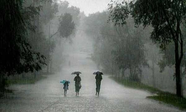 Heavy Rainfalls, low pressure