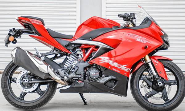 price of tvs apache rr 310 hiked now costs 2 23 lakh