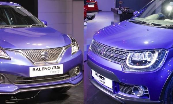 maruti ignis and baleno to feature a new colour