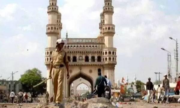 five aquitted, Mecca Masjig bomb blast