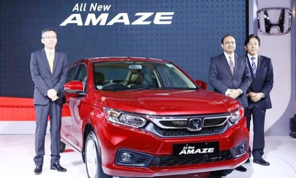 2018 Honda Amaze launched