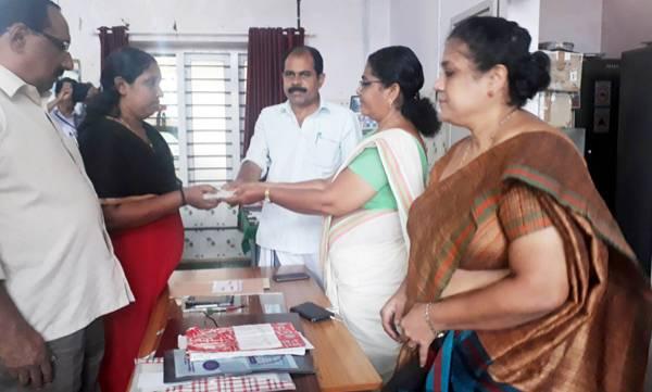Preseetha,  Nursing assistant job