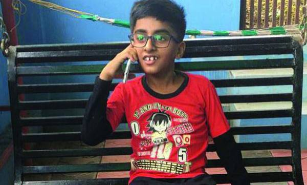 Eight year old boy, One Lakh rupees,Cancer patient