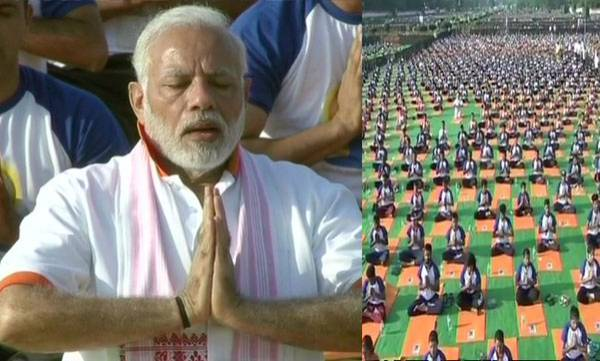 india-yoga-biggest-mass-moment-for-good-health-and-wellbeing-pm-modi