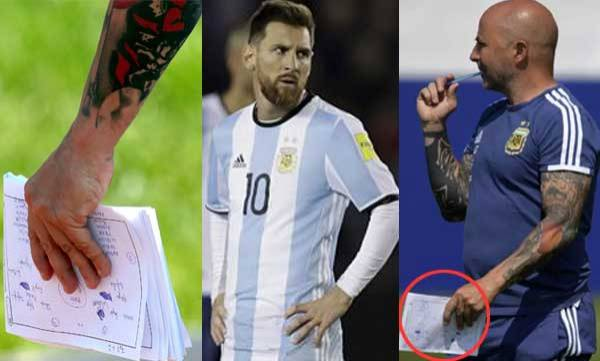 sports-news-world-cup-2018-argentina-coach-jorge-sampaoli-accidentally-leaks-team-tactics-for-nigeria-clash-in-training-notes