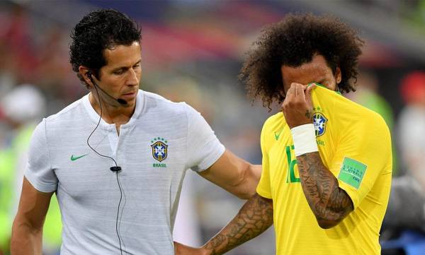 Marcelo's injury