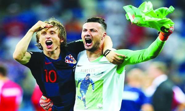 Croatia, Denmark, World Cup, last eight