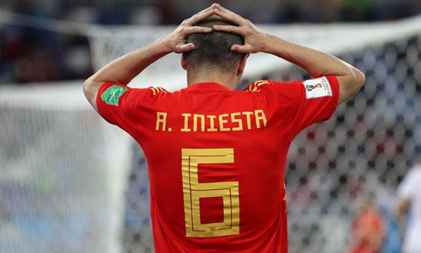 Iniesta, Spain , World cup, Russia