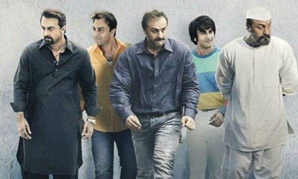 Ranbir Kapoor, Sanju, Transformation