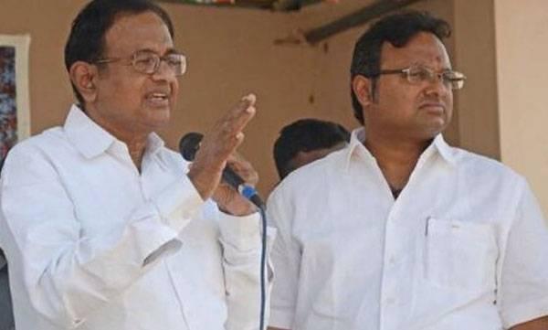 Chidambaram, Karthi chidambaram, ED