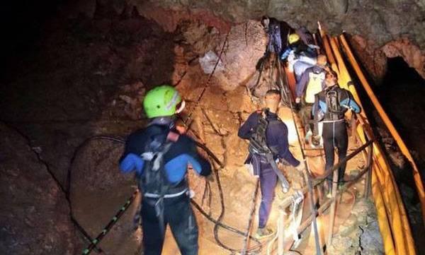 Thai cave rescue, navy sources