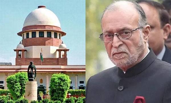 Supreme court , Anil Baijal