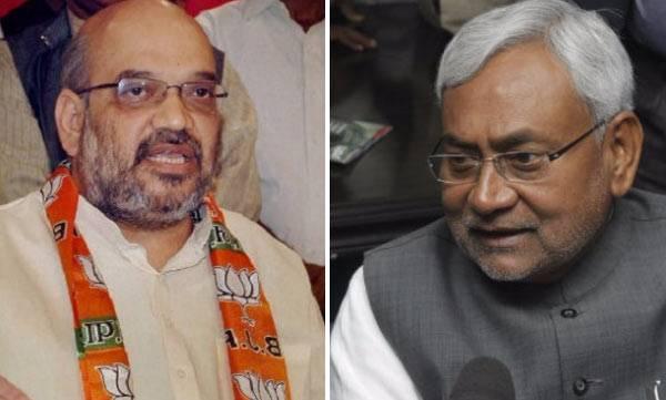 Amit Shah, Nitish Kumar