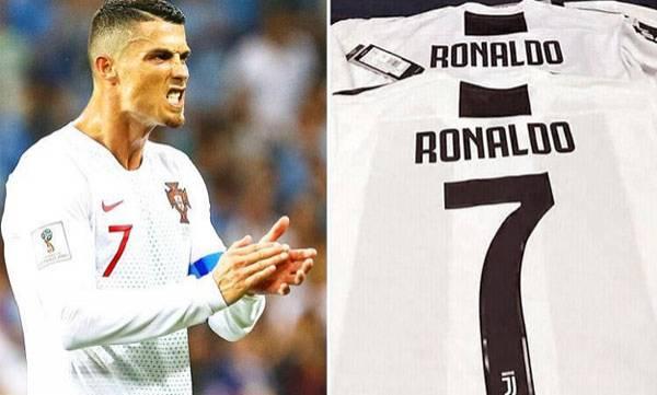 Ronaldo,  Juventus No.7, Cuadrado