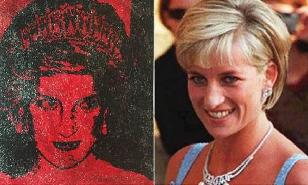Princess Diana, Portrait,  HIV+ve blood