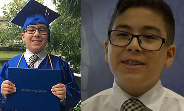 11 year old, Graduated, Florida