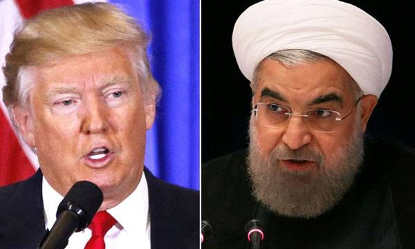 Donald Trump, President Rouhani