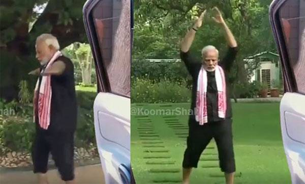 KiKi challenge , Narendra Modi