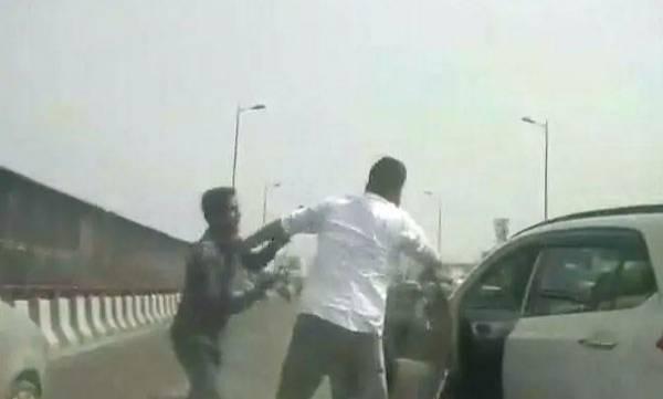 Delhi Businessman, Robbery