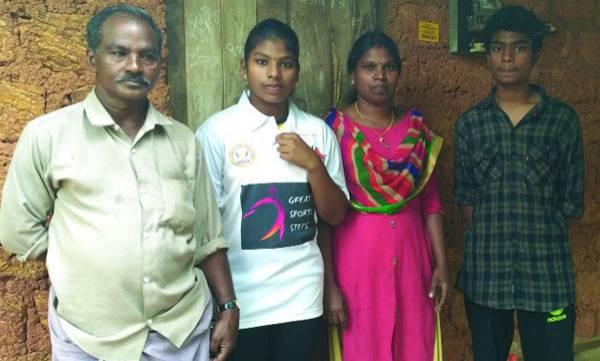 Durga,  Gold medal,  Indo-Srilankan Wushu championship