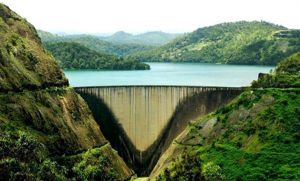 Idukki dam, Trial run
