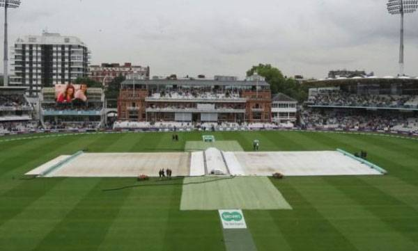 Rain, First day, Lords Test
