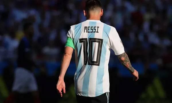 Messi, Argentina