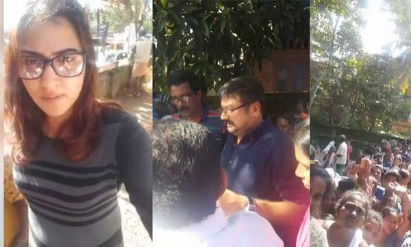 latest-news-jayaram-and-daughter-in-relief-camp