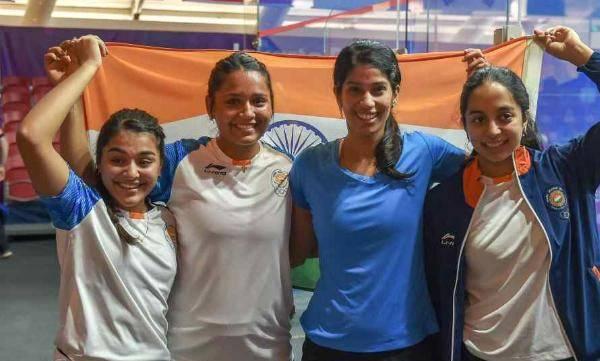 Asiad Squash, Indian women's team, Hong Kong