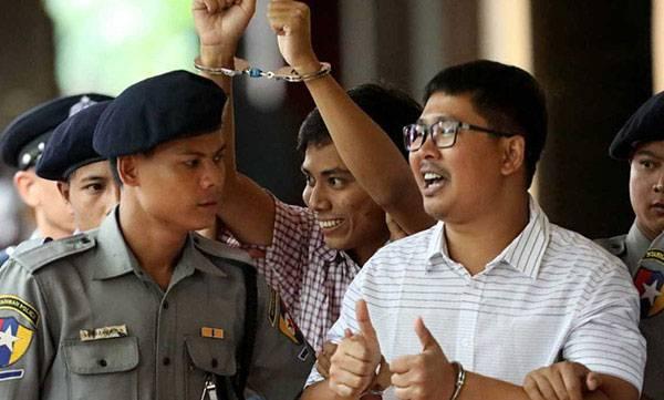 Reuters, Reporter, Myanmar, state secrets