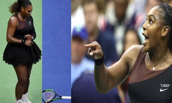 Serena Williams,  US Open Final Outburst