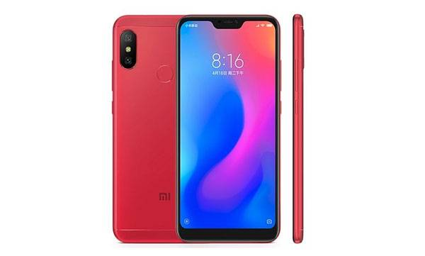 Xaomi Redmi 6pro, amazon and mi.com,