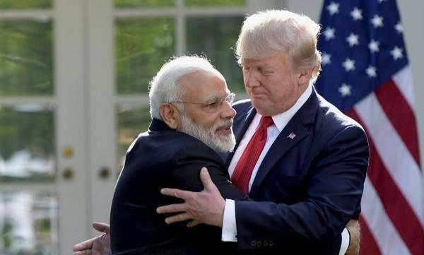 Modi, Trump, Camp David