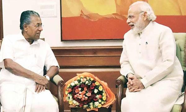 PM Modi, Pinarai Vijayan