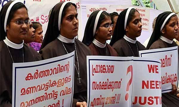 SOS, KCBC,  Nuns Protest
