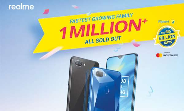 mobile-realme-sells-1-million-phones-flipkart-big-billion-days-sale