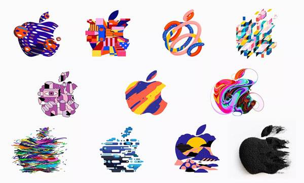 apple released different logo design