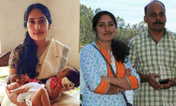 Sudhakaran -Shilna couples, Twins
