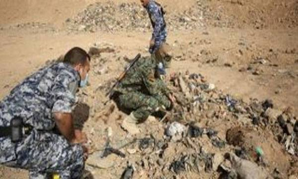 ISIS, Terror, mass grave