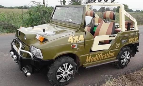mahindra thar has decided to replace the maruti 800