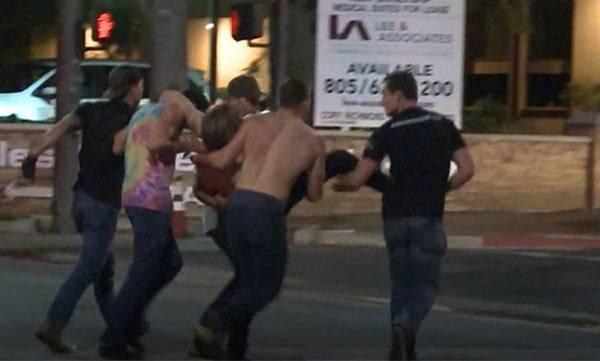 13 dead, horrific, California bar