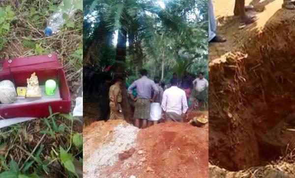 Land digging story