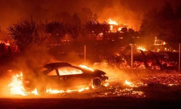Death toll, california, Wildfire