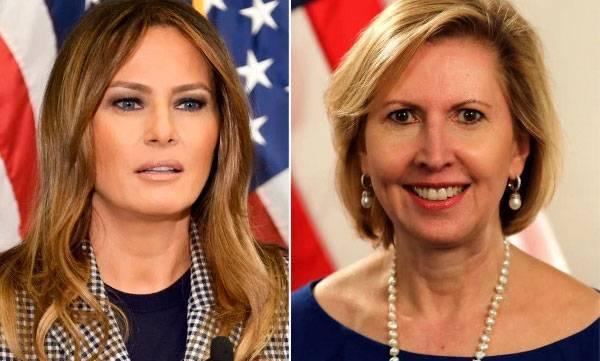Melania Trump, White House