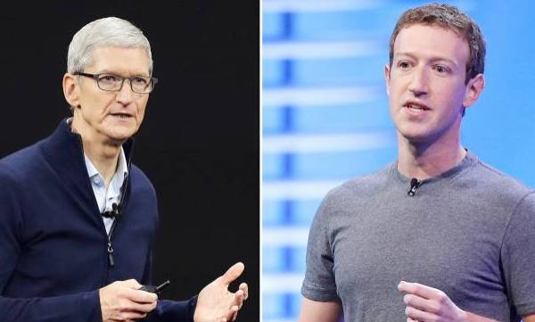Upset With Tim Cook, Zuckerberg Asked Staff To Stop Using iPhones