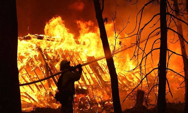 California, Wild fire
